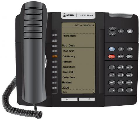 Image of Mitel 5320 IP phone